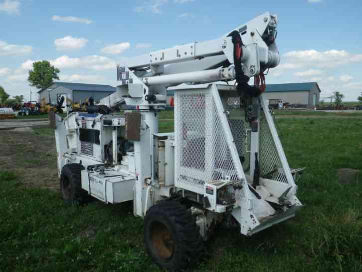 WOODCHUCK SP-37A (2005) : Bucket / Boom Trucks