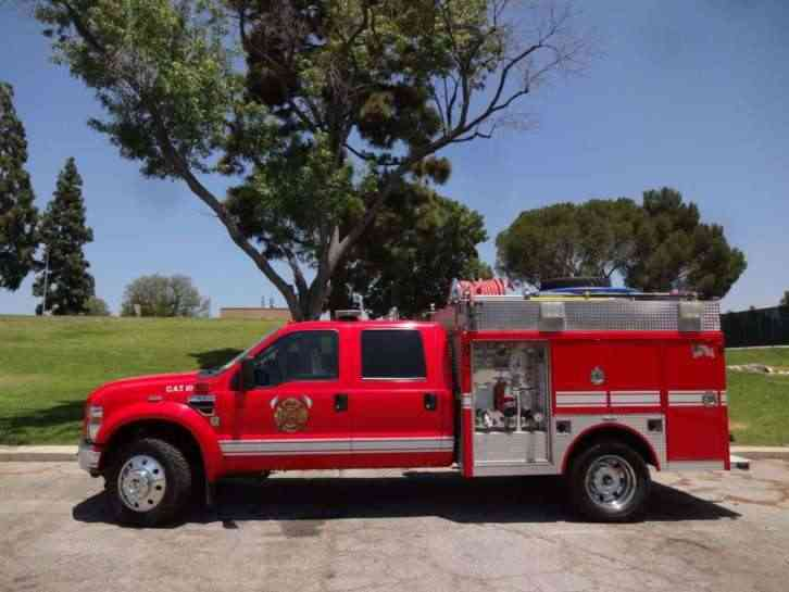 Crew Cab Box Truck For Sale >> Ford f550 (2008) : Emergency & Fire Trucks