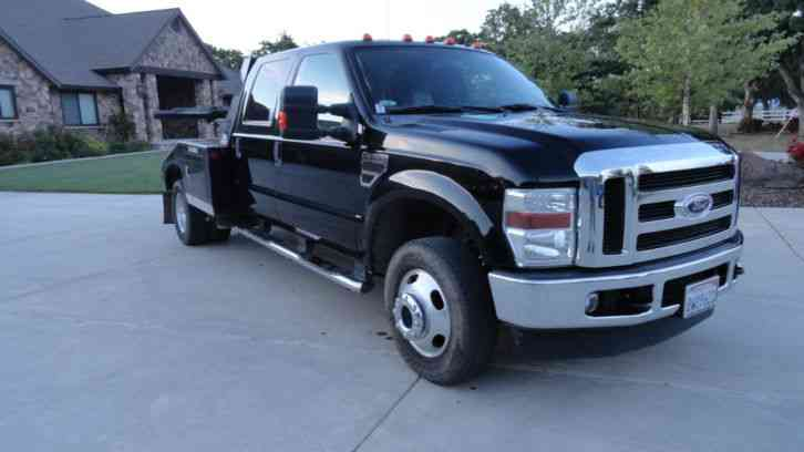 F Crew Cab Lariat X Self Loader Tow Truck on 6 5 Dually Single Cab