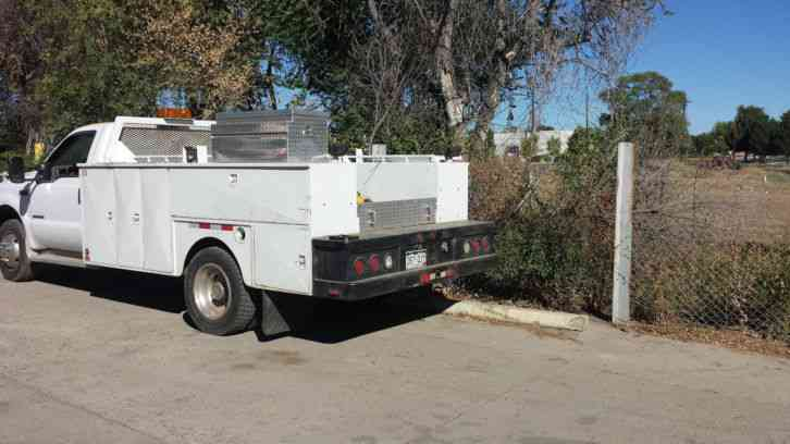 Service Body Tailgate : Ford f utility service trucks