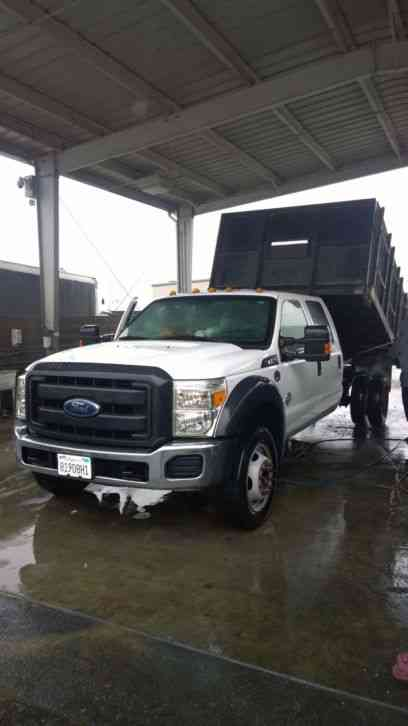 Truck Beds For Sale >> Ford F550 crew cab dump truck diesel 57k miles 19, 500 ...