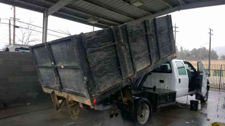 F550 For Sale >> Ford F550 crew cab dump truck diesel 57k miles 19, 500 ...