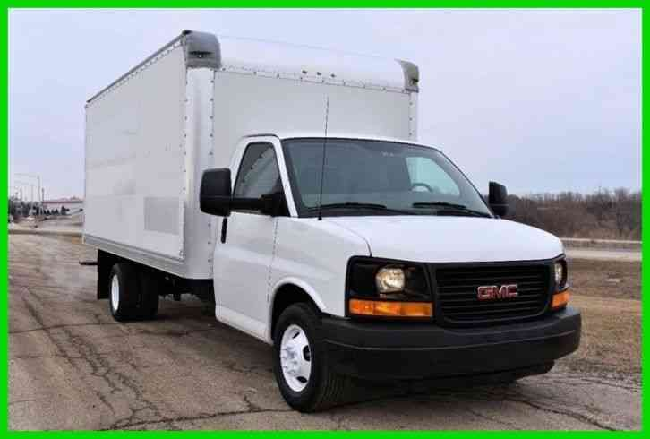GMC 3500 16ft Box Truck (2011)