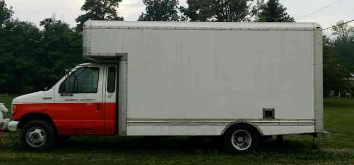 ford e350 1998 van box trucks. Black Bedroom Furniture Sets. Home Design Ideas