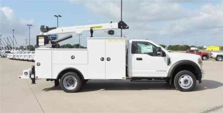 Ford F-550 Chassis (2018)