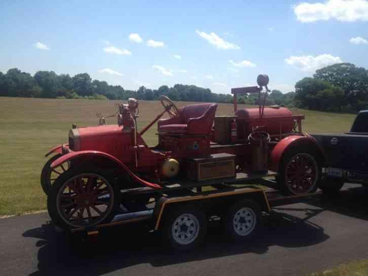 Ford Tt 1916 Emergency Amp Fire Trucks