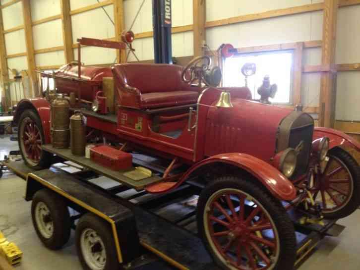Ford Model T (1916) : Emergency & Fire Trucks