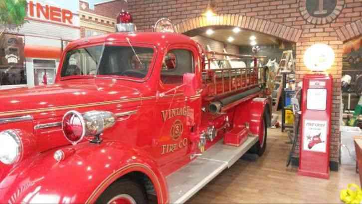 Chevrolet Darley Pumper 1940 Emergency Amp Fire Trucks
