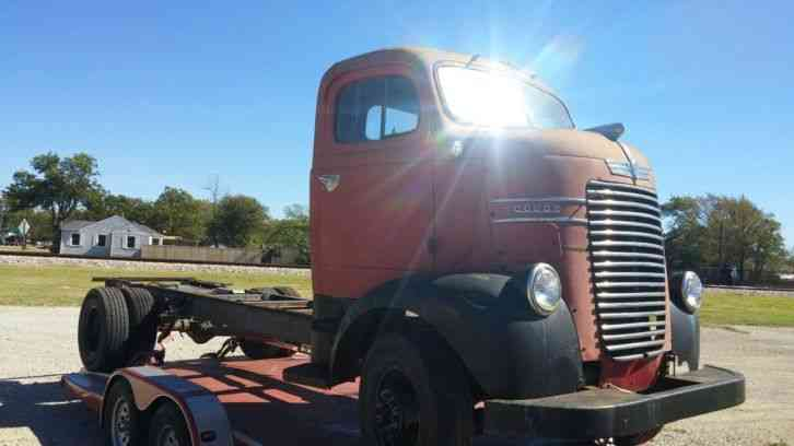 Cabover Trucks For Sale >> Dodge coe (1941) : Commercial Pickups