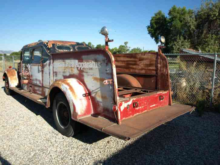 Buying A Car With No Title >> Mack Type 505 (1941) : Emergency & Fire Trucks