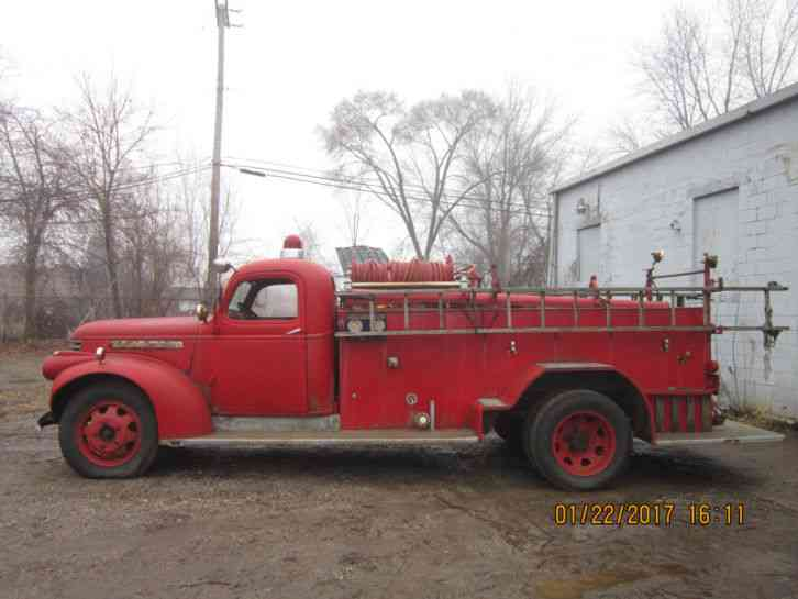 Gmc Trucks For Sale >> GMC Fire Truck (1942) : Emergency & Fire Trucks