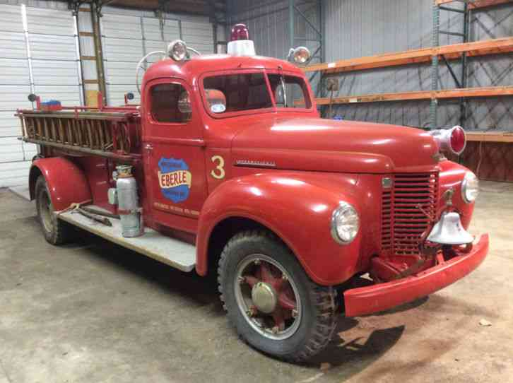 International 1943 Emergency Amp Fire Trucks