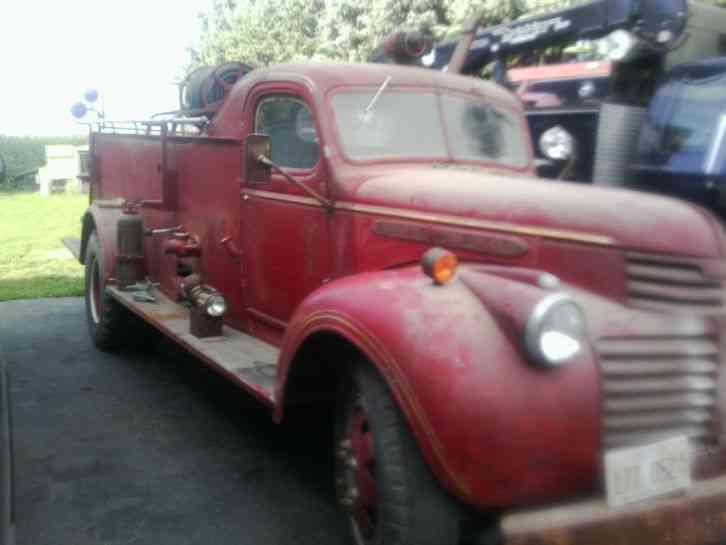 Gmc 1945 Emergency Amp Fire Trucks
