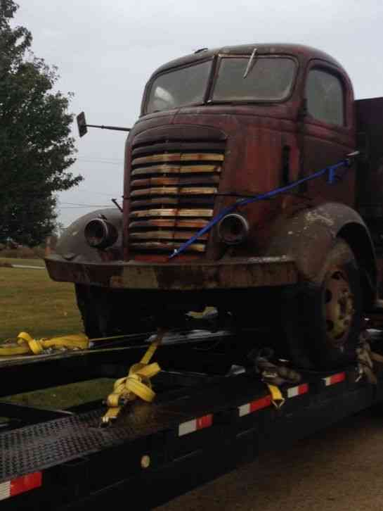 Cabover Trucks For Sale >> GMC COE Cabover (1947) : Commercial Pickups