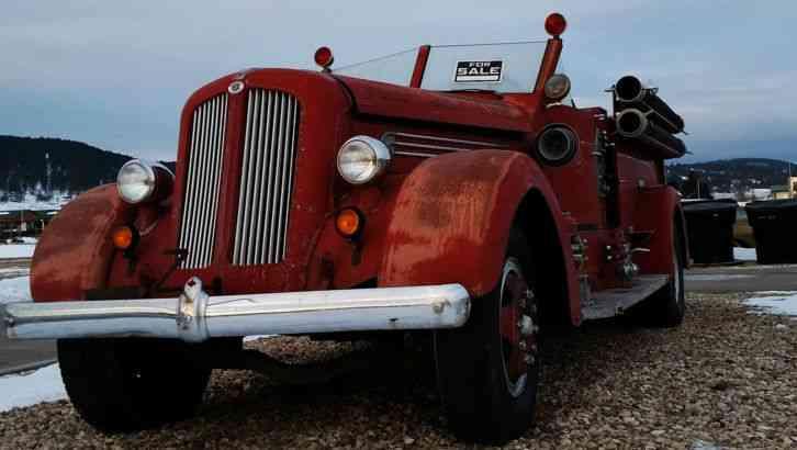 Seagrave Fire Apparatus >> Seagrave 12 JB (1947) : Emergency & Fire Trucks