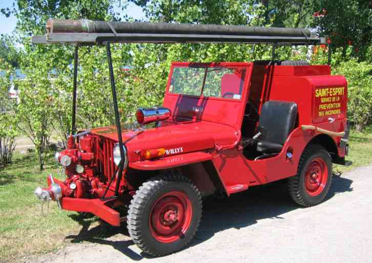 Willys Jeep Truck For Sale >> Jeep Willys CJ2A (1948) : Emergency & Fire Trucks