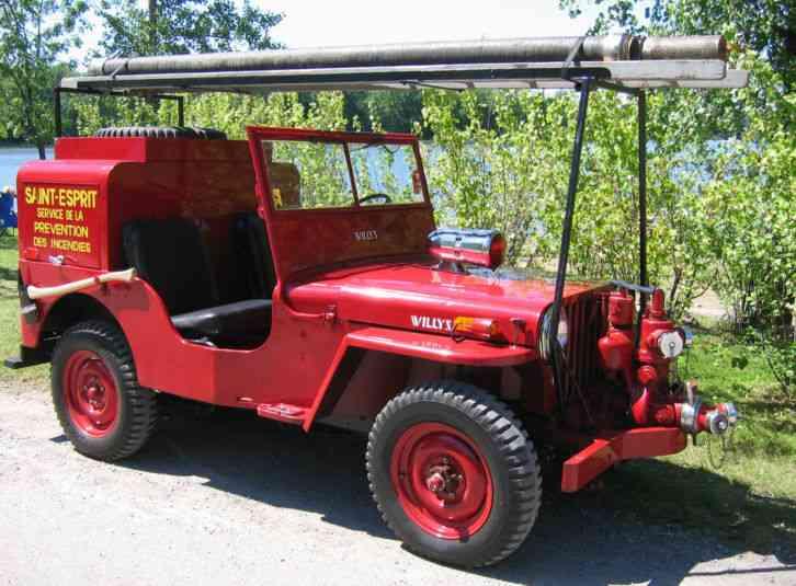 Used International Trucks >> Jeep Willys CJ2A (1948) : Emergency & Fire Trucks