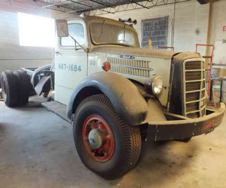Trucks For Sale In Md >> Mack EQ (1949) : Daycab Semi Trucks