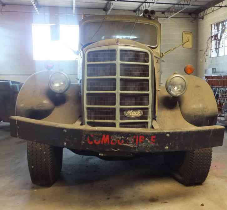 Mack Trucks For Sale >> Mack EQ (1949) : Daycab Semi Trucks