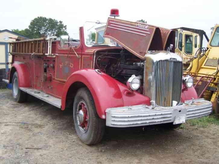 Mack (1949) : Emergency & Fire Trucks