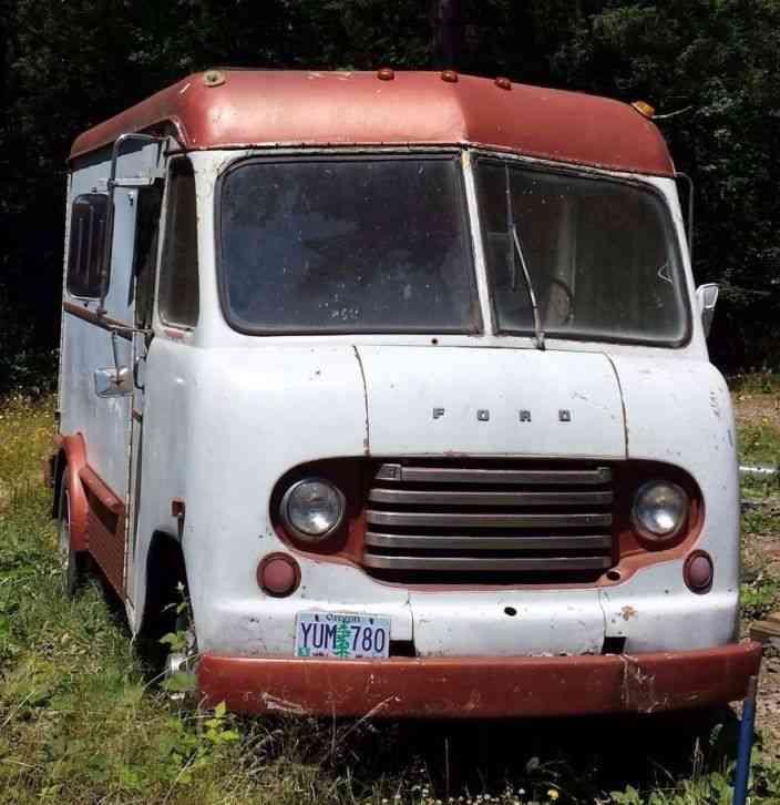 Step Vans For Sale >> Ford Grumman Step Van 1950 Van Box Trucks
