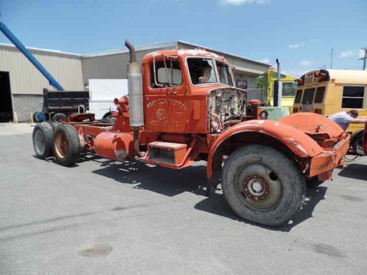Mack Trucks For Sale >> Mack Ltl 1953 Heavy Duty Trucks