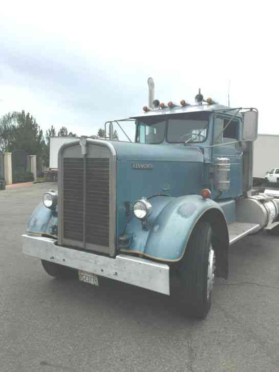 Best Used Trucks >> Kenworth 521 (1955) : Daycab Semi Trucks