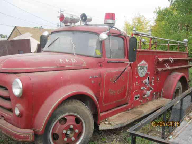 1956 Ford Fire Truck : E one stratospear emergency fire trucks