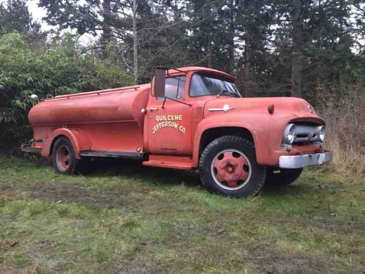 Ford F600 1956 Emergency Amp Fire Trucks