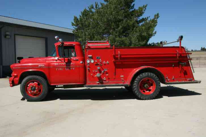 Gmc 350 Fire Truck 1956 Emergency Amp Fire Trucks