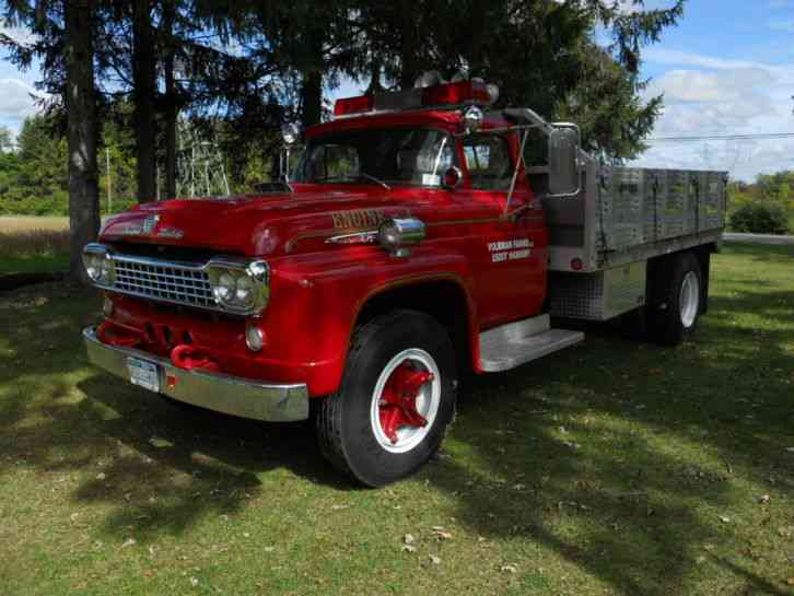 Ford F850 1958 Emergency Fire Trucks