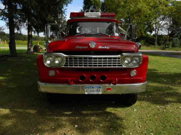 Ford F850 (1958) : Emergency & Fire Trucks