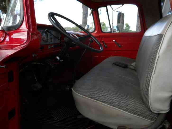 Ford F850 (1958) : Emergency & Fire Trucks