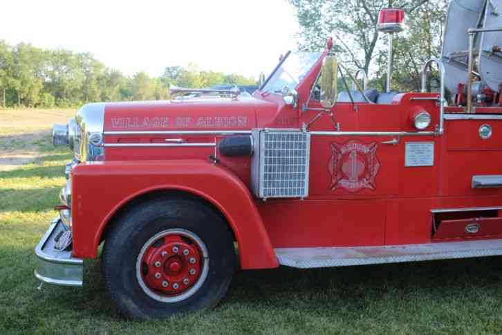 Seagrave Aerial (1958)