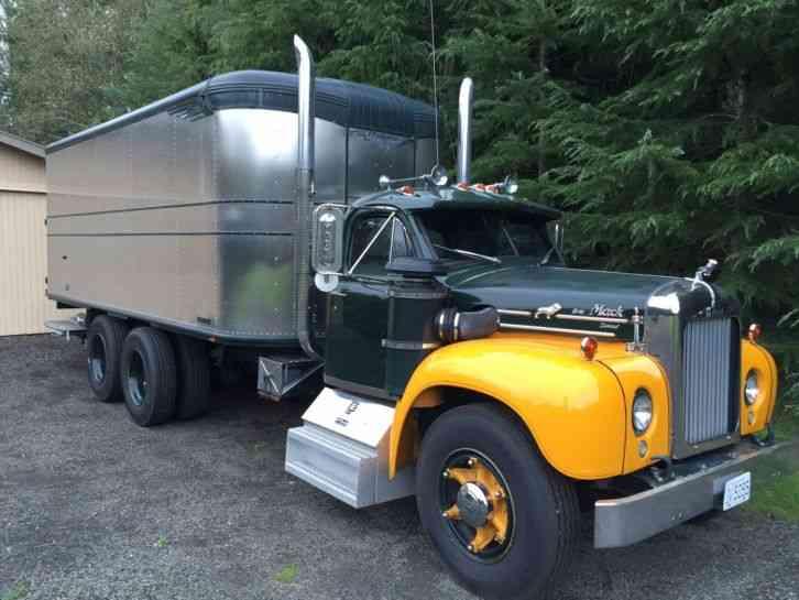 B 61 Mack Trucks : Mack b heavy duty trucks
