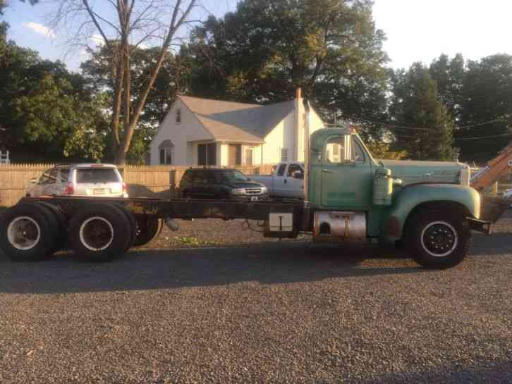 Used Bucket Trucks For Sale >> Mack B75 (1959) : Daycab Semi Trucks