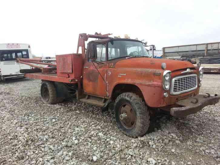 Flatbed Truck For Sale >> International B160 4WD (1960) : Utility / Service Trucks