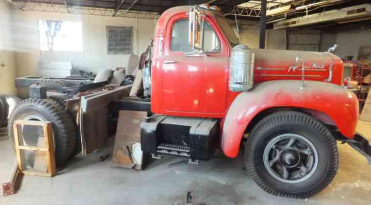 Trucks For Sale In Va >> Mack B42 T (1960) : Daycab Semi Trucks