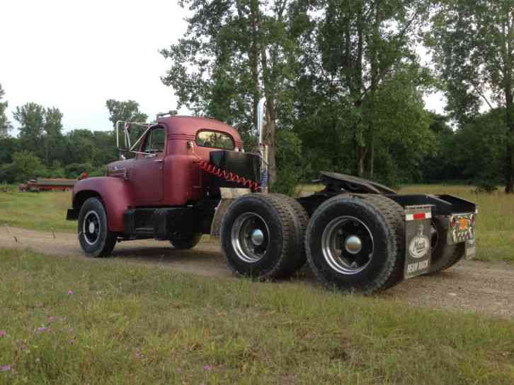 B 61 Mack Trucks : Mack b daycab semi trucks