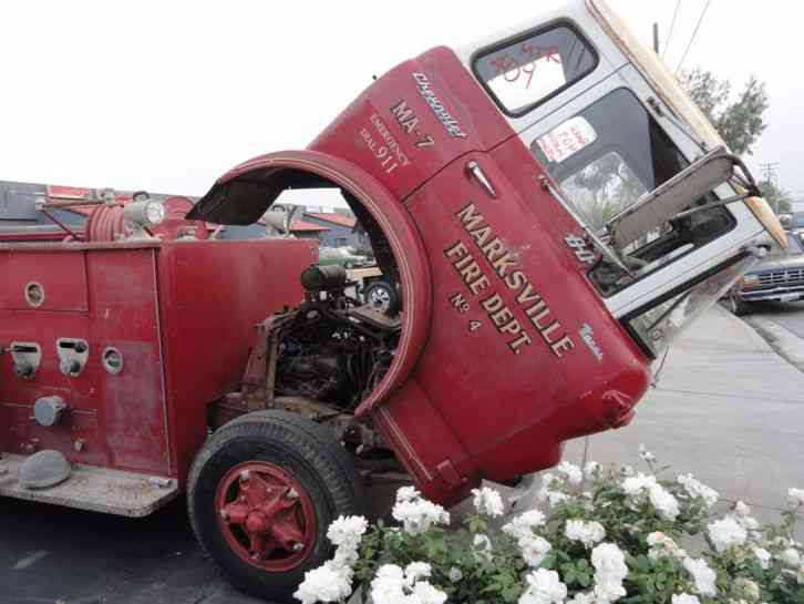 Willys Jeep For Sale >> Chevrolet SPARTAN . T-80 (1963) : Emergency & Fire Trucks
