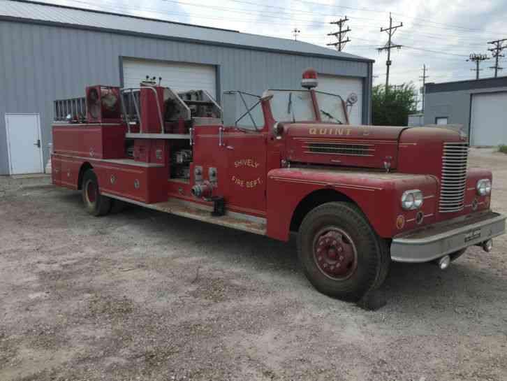 Pirsch QUINT (1963) : Emergency & Fire Trucks