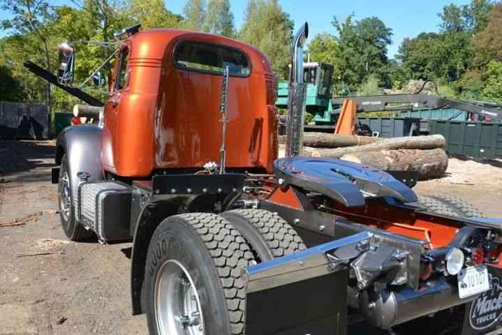 1964 Mack B Model : Mack b swb contour cab heavy duty trucks