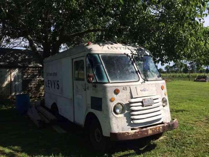 Grumman Olson Step Van 1964 Van Box Trucks