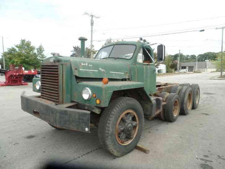 1964 Mack B Model : Mack b heavy duty trucks
