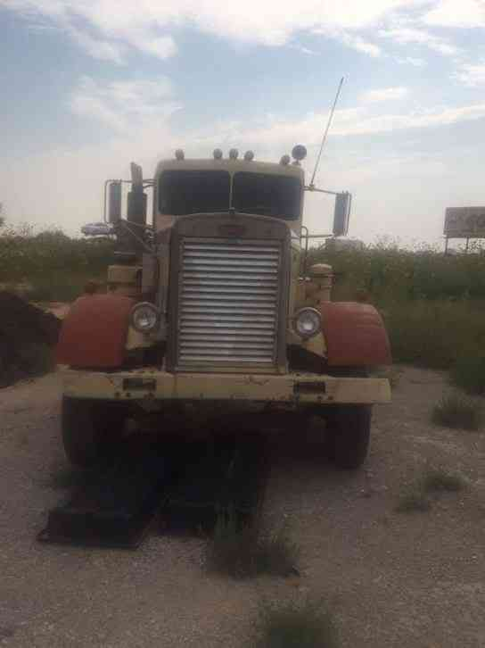 Peterbilt Needle Nose A on Rockwell Transmission
