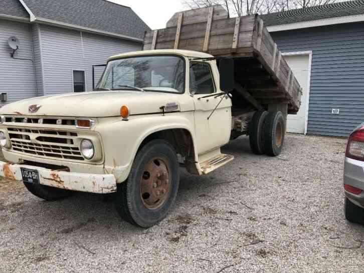 Ford F600  1966    Bucket    Boom Trucks