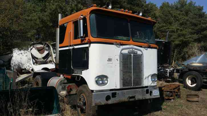 Kenworth Cabover Semi