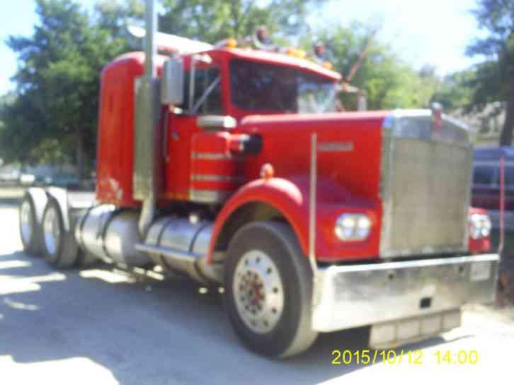 Kenworth w 900 1967 sleeper semi trucks kenworth w 900 1967 voltagebd Images