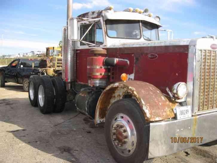 Semi Truck 1967: Kenworth W-900 (1967) : Sleeper Semi Trucks