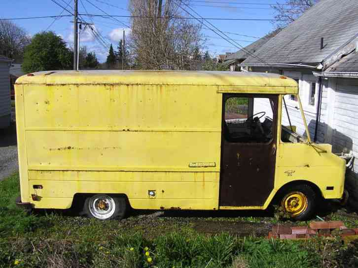 Chevrolet P 20 Step Van 1968 Van Box Trucks